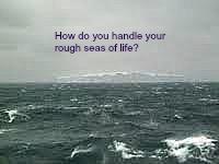 windy ocean